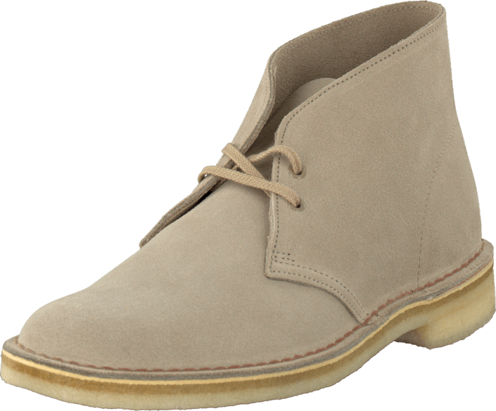 Köp Billiga Clarks Desert Boot Herr Stövlar Sand Suede