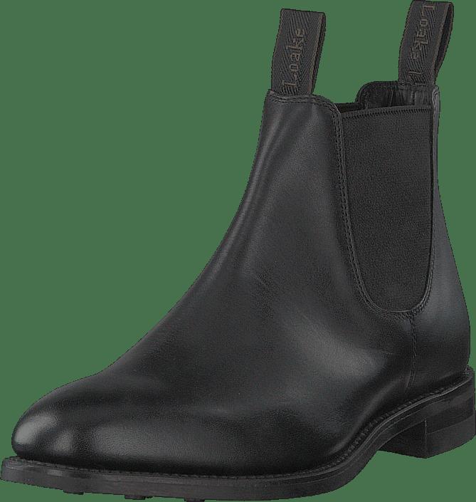 4f7b66046446 Buy Loake Chatterley Black black Shoes Online