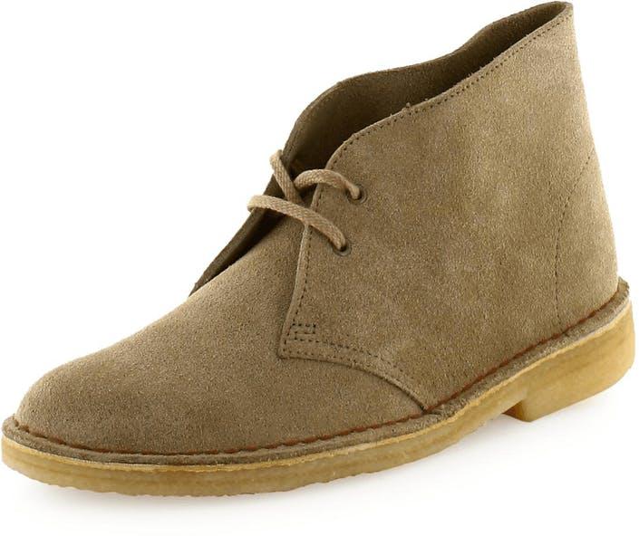 a8534ac02dd Køb Clarks Desert Boot W Sand Suede brune Sko Online | BRANDOS.dk