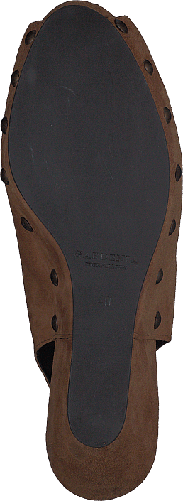Gardenia - Cipro Sandal med nitar Cognac
