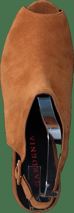 Cipro Sandal med nitar Cognac