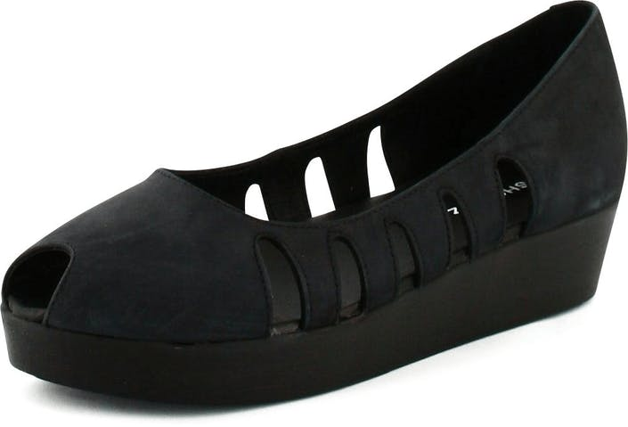 72d47c2870a Køb Shoe Biz Nubuck Sandal Plateau Black sorte Sko Online | FOOTWAY.dk