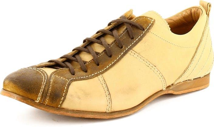 Kjøp EM Beige sneakers Leather Brun Sko Online | FOOTWAY.no