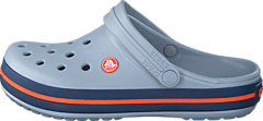 Crocband Light Grey/Navy