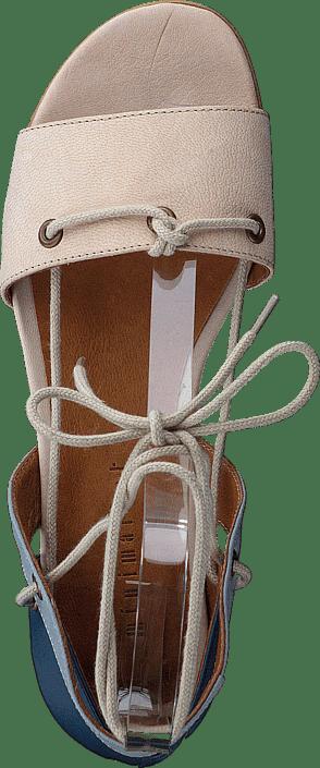 Minimarket Sandals Online Blå Sko Sandal Leather Kjøp 7nUgw88