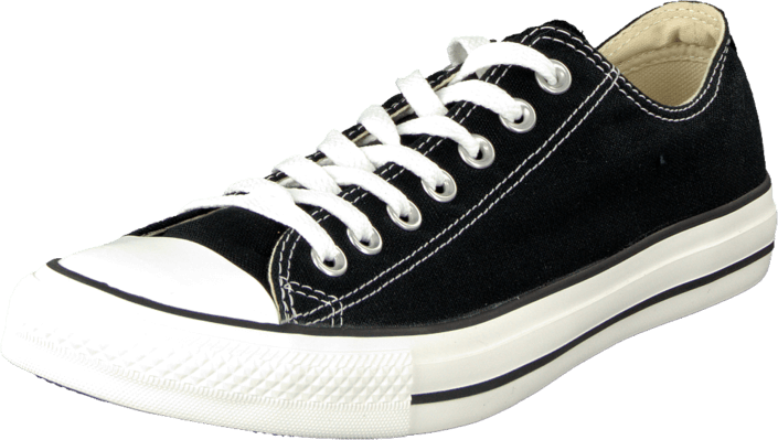 All Star Canvas Low Canvas Black