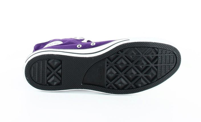 All Star Canvas Hi Canvas Dark Purple