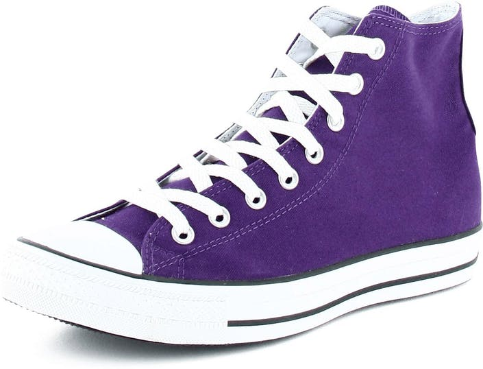 b1257e54726 Buy Converse All Star Canvas Hi Canvas Dark Purple purple Shoes ...