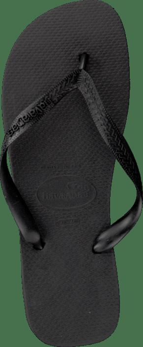 Online Sorte Black Kjøp Sko Sandals Havaianas Top aqwxUt0zX