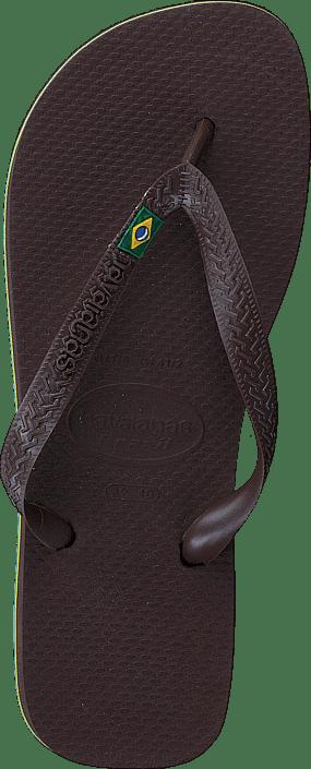 Havaianas - Brasil Dark Brown