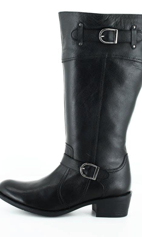 Osta Park West 278275XL Black Leather Mustat Kengät Online  257bab0935