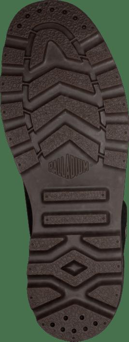 Osta Palladium Pampa Hi Men Black Pilot Leather S. mustat Kengät ... f6c51d11be