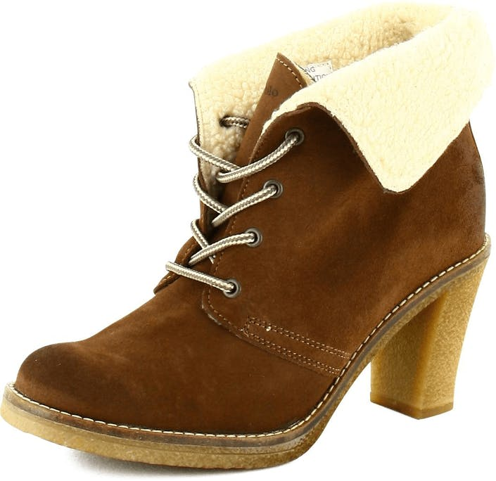 Osta Marc O Polo Ankle Boot Brown Suede Ruskeat Kengät Online ... 51614d3148