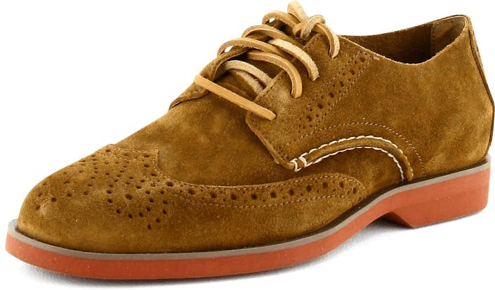 Boat Oxford WingTip Tan Suede
