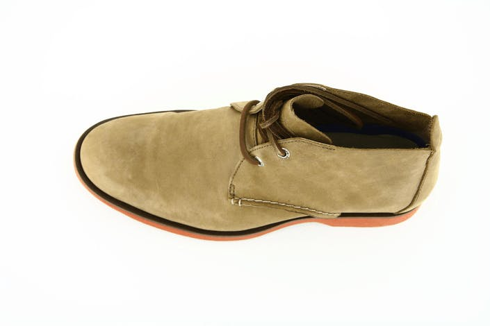 Boat Oxford Dessert Bt Dark Tan Leather