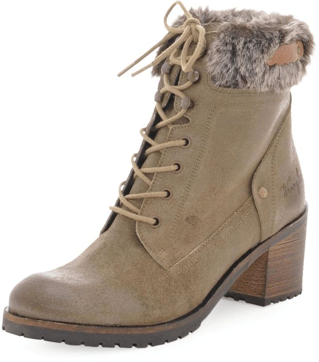 Rusty Boot Truffle Oiled Suede