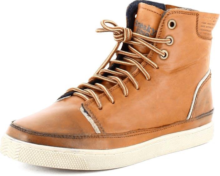 Kjøp Sneaky Steve Ward Cognac Leather Orange Sko Online