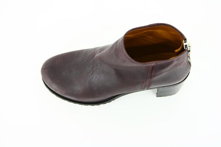 Embla Purple Leather