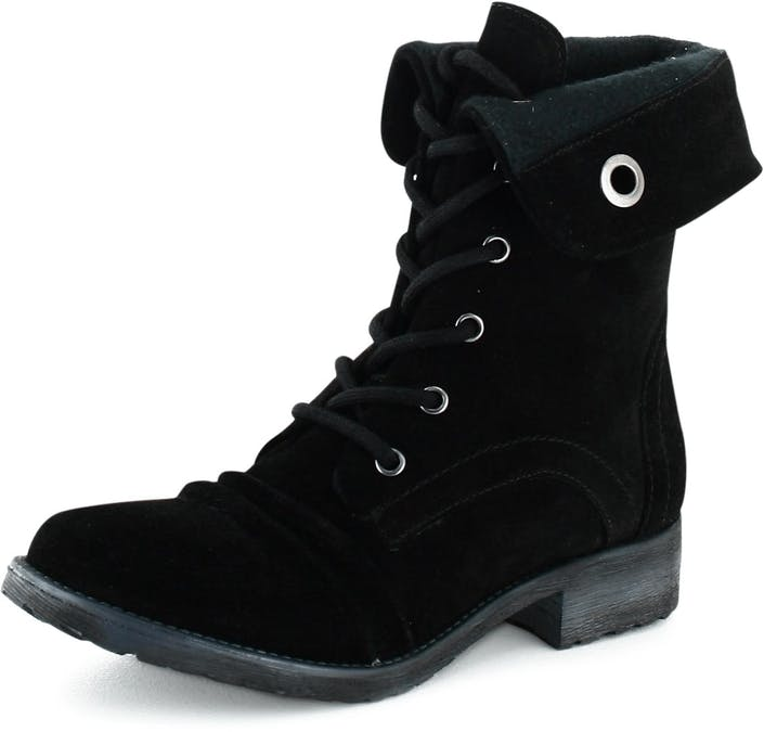 Leather Boot 74 Black