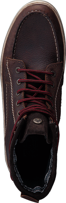 Woodland Mok Dr Brown Leather
