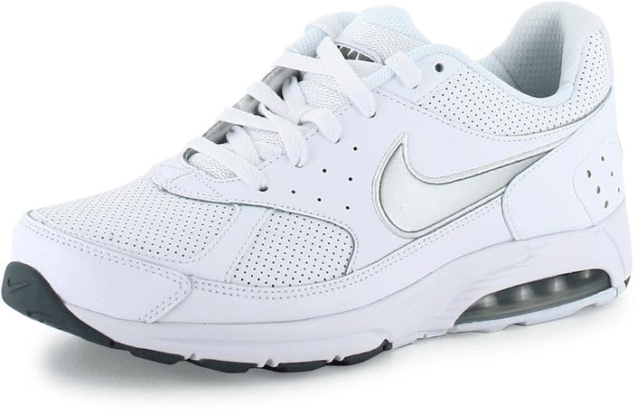 91bf7d44c Buy Nike Nike Air Max Faze Leather WHITE-MTLLCS grey Shoes Online ...