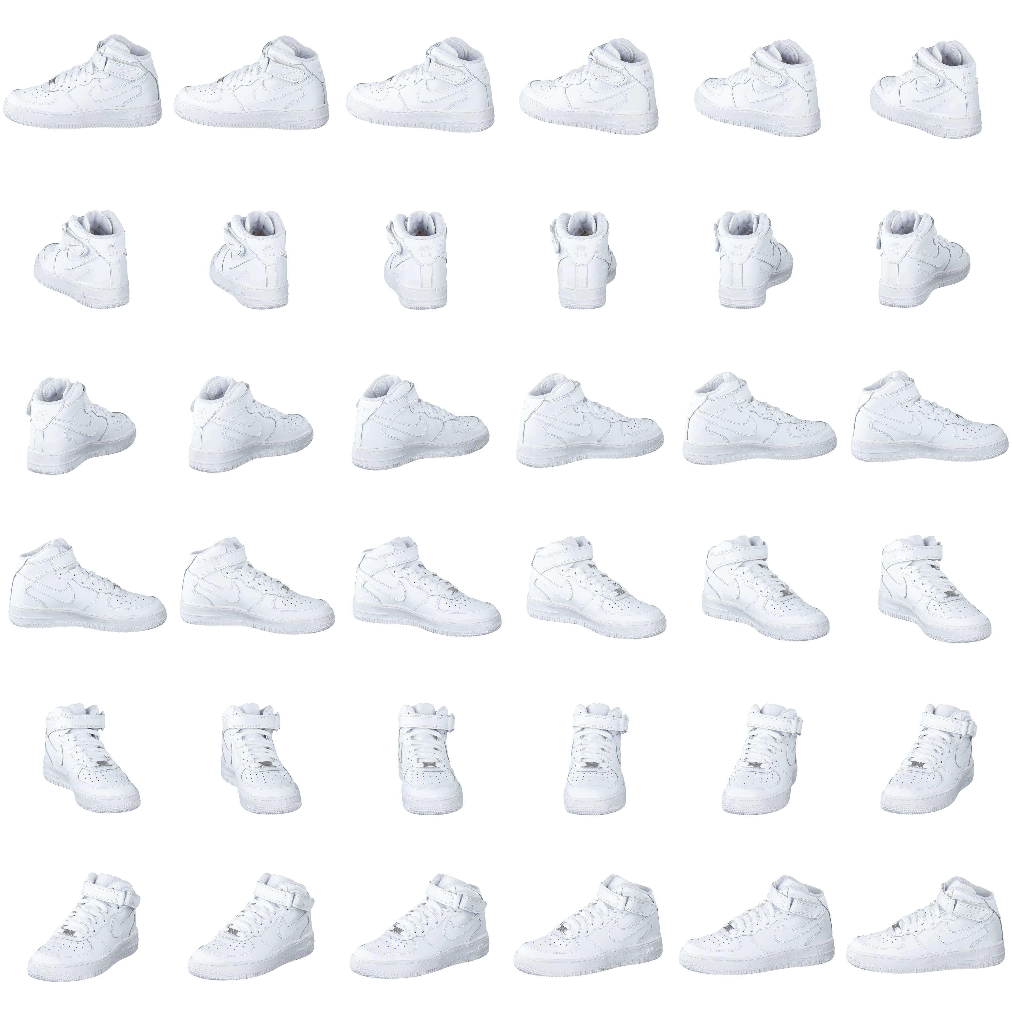 check out e0991 c6ef8 Köp Nike Air Force 1 Mid White White vita Skor Online   FOOTWAY.se