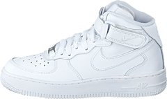 buy popular 31ba0 2ac7d Nike - Air Force 1 Mid White White