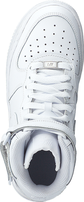 Air Force 1 Mid White/White
