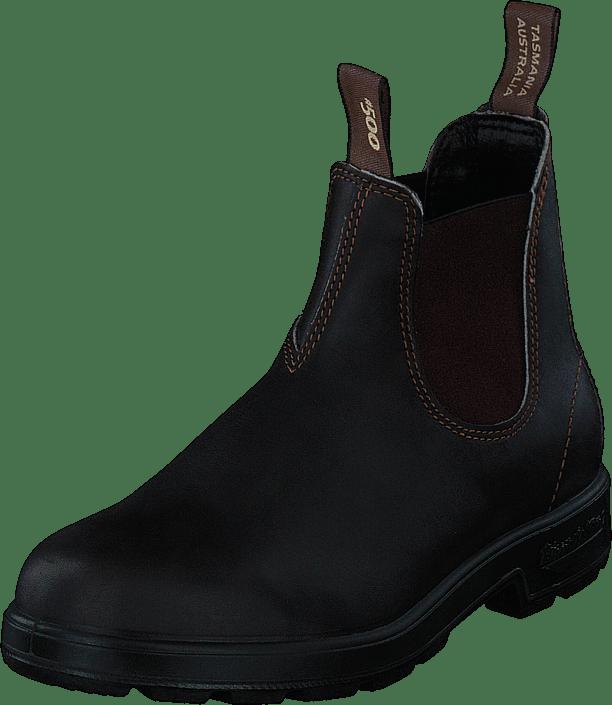 Sorte 500 Boots Online 00 02469 Blundstone Leather Og Brown Sko Køb Støvler q1I54FwBnn