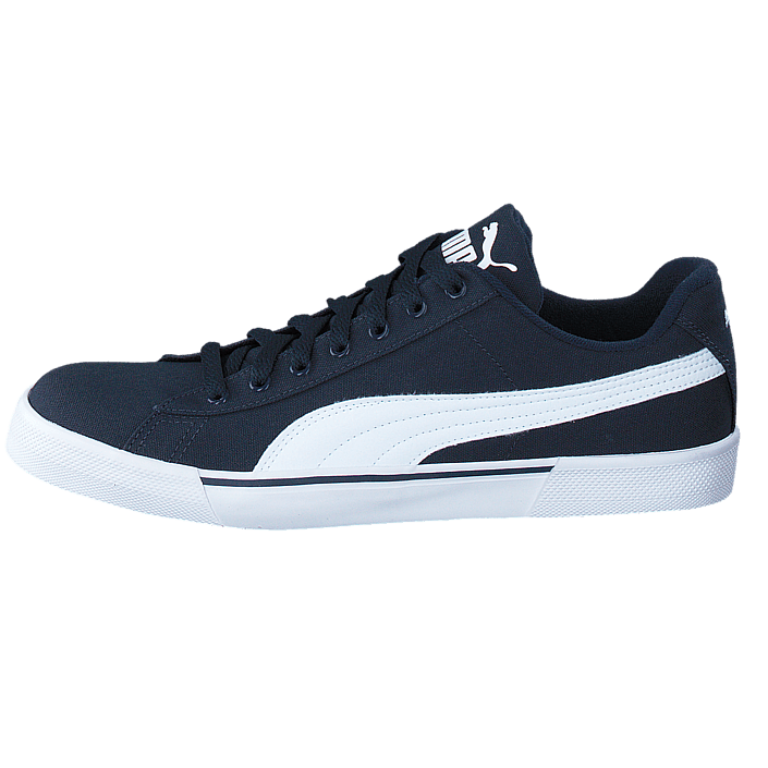 Puma Benny Sneakers Sort Hvid Herre