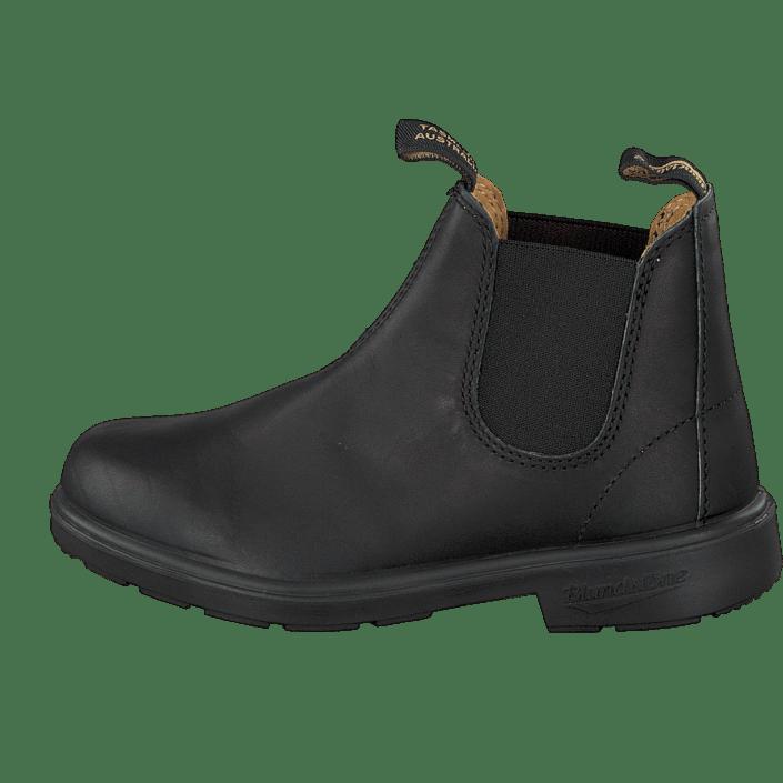 Rørig Blundstone 531 Leather Black schwarze Schuhe Kaufen Online YB-87