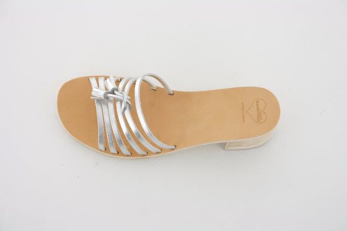 Tassel Sandal High Silver