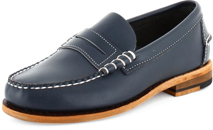 Classic Leather Navy E