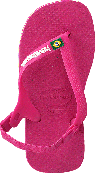 Havaianas - Baby Brasil Logo Orchid Rose
