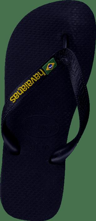 Kjøp Havaianas Brasil Logo Black sko Online | FOOTWAY.no
