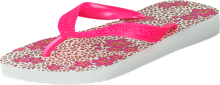 Havaianas - Kids Flores White/Orchid Rose