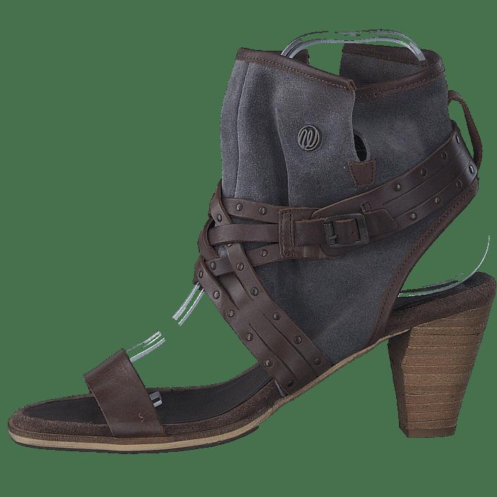 02822 Brown Højhælede Sko Køb Cher Online Leather Strips Wrangler Pumps Blå Og Mid 00 Dark 7f7RwOxqX