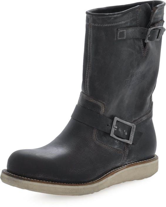 a8903829dec80 Buy Harley Davidson Seattle Biker Boot Brown Lthr black Shoes Online ...