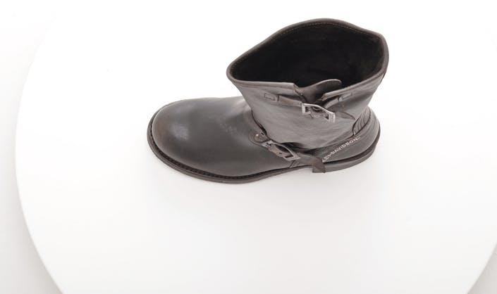 422 Boot Dark Brown Waxed Lthr