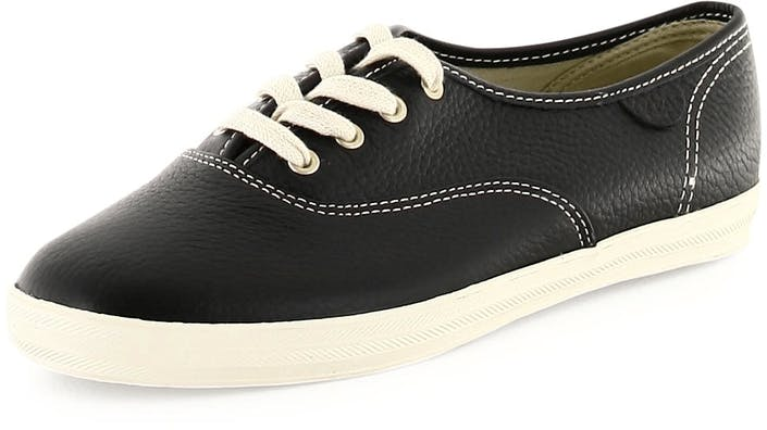 Champion Basic Black Leather