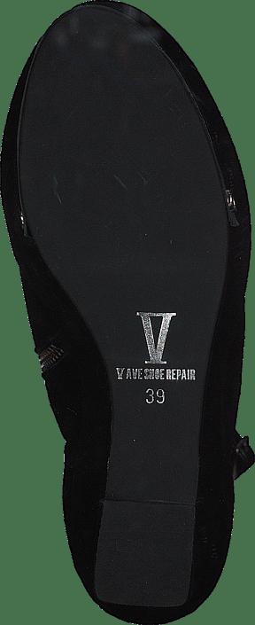 V Ave Shoe Repair - Plate Shoe Black