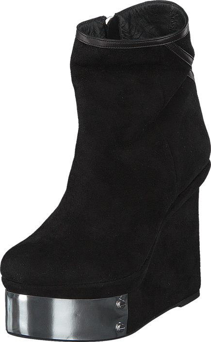 Plate Boot Black
