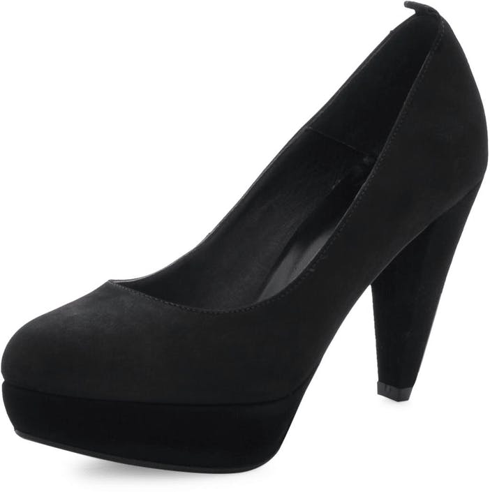 Cinderella Pump Black