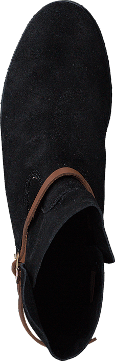 Racing Fur Boot Black