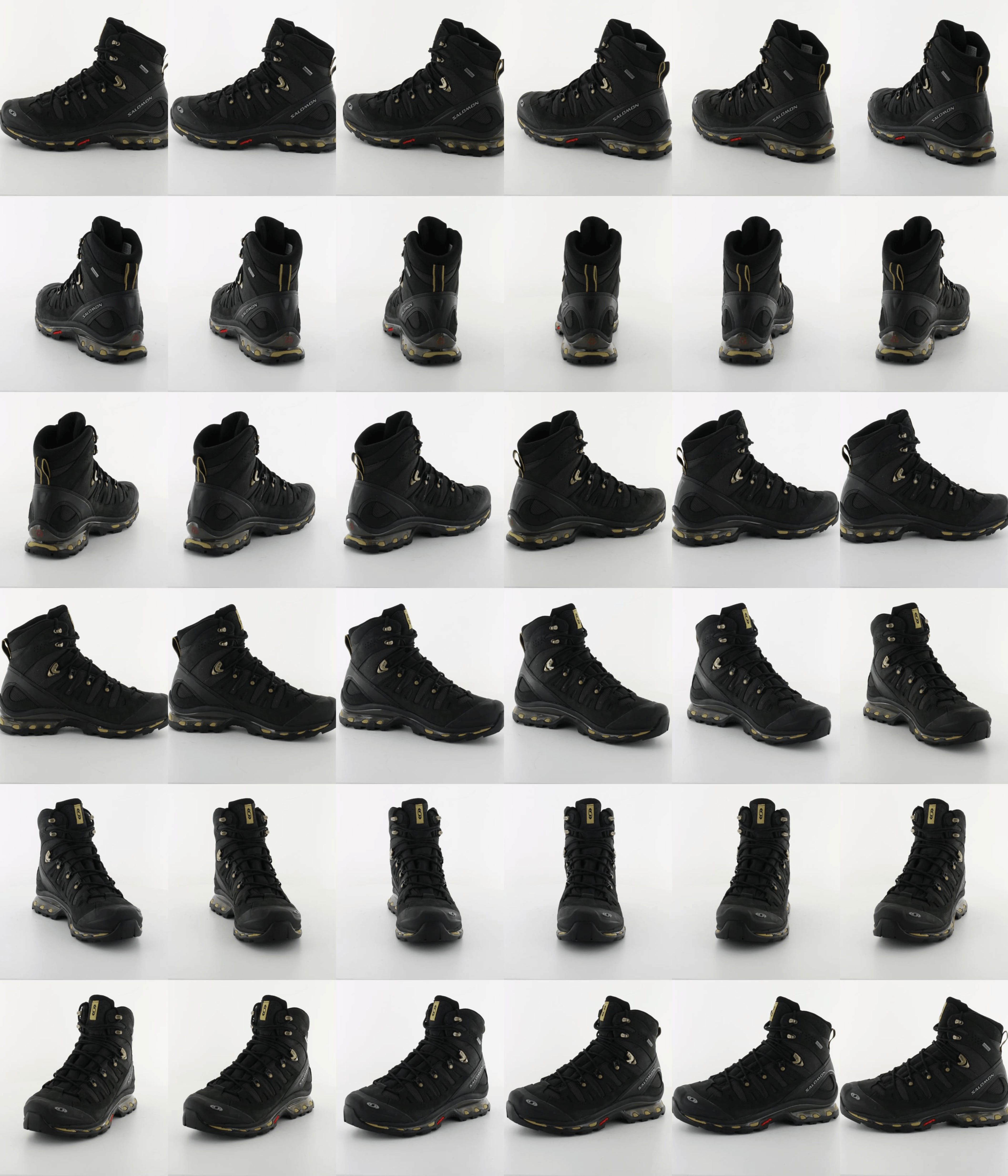 ae18e81da494 Buy Salomon Quest 4D GTX Black Black Gold Equipe-X black Shoes Online