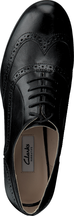 Sko Hamble Leather Kjøp Clarks Grå Black Oak Flats Online xg1wqYAw