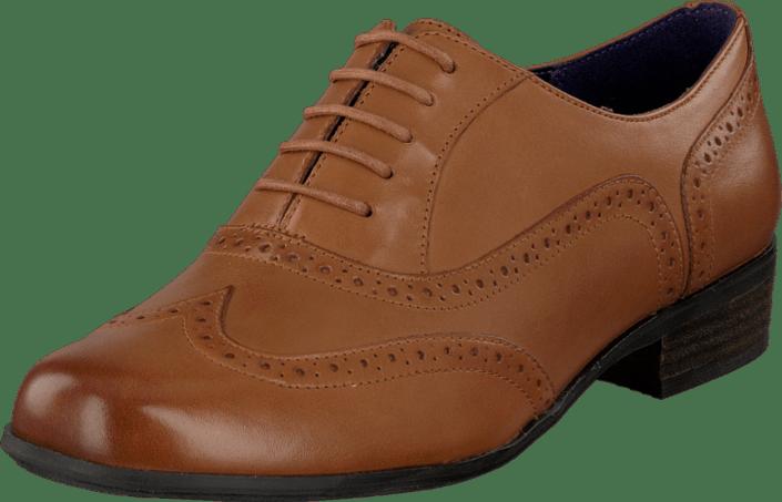 Hamble Oak Dark Tan Leather