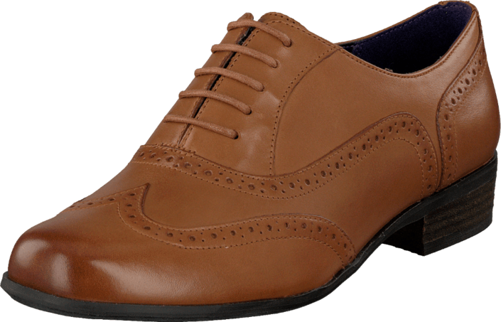 Clarks - Hamble Oak Dark Tan Leather