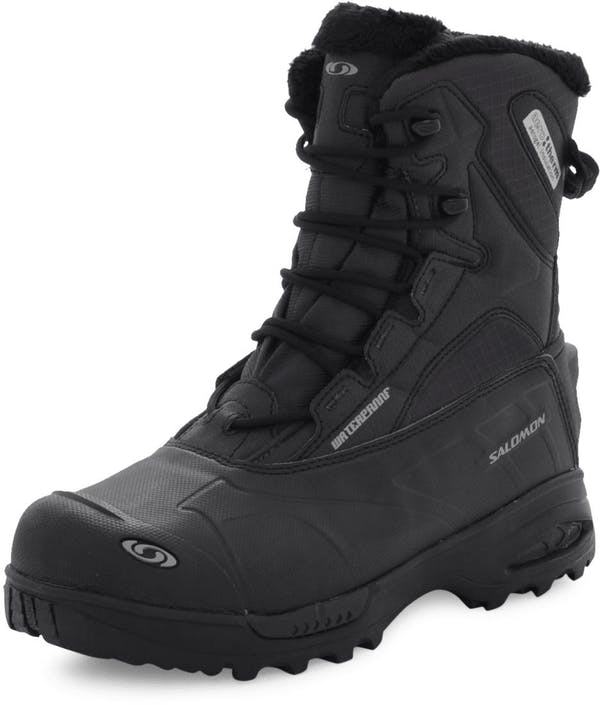 Salomon Toundra mid WP asphaltblack winter shoes