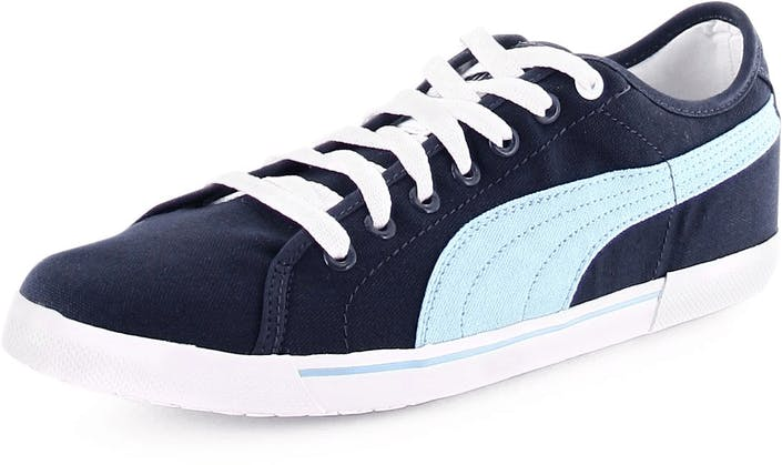 Buy Puma Benecio Canvas Navy Blue blue Shoes Online  6936e13c5